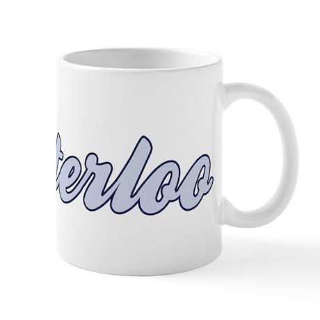 Waterloo (blue) Mug