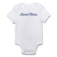 Santa Clara (blue) Infant Bodysuit