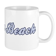 Virginia Beach (blue) Mug