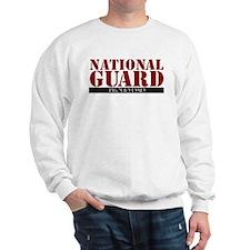 Cute National guard dad Sweatshirt