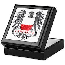 Polska Shield Keepsake Box