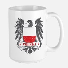 Polska Shield Large Mug