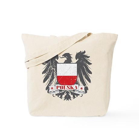 Polska Shield Tote Bag
