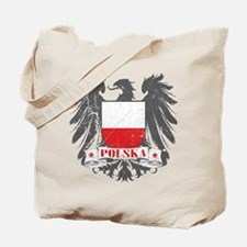 Polska Shield Tote Bag