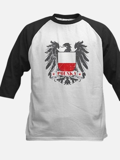 Polska Shield Kids Baseball Jersey
