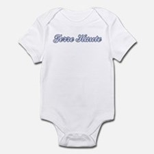 Terre Haute (blue) Infant Bodysuit
