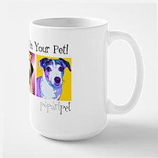 Pop Art Pet Large Mug