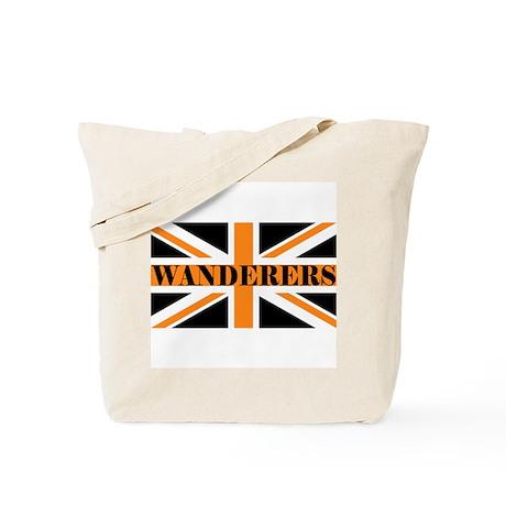 'Wolverhampton Wanderers Union Jack' Tote Bag by whatiftees