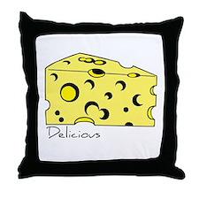 Swiss Cheese Throw Pillow