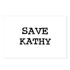 Save Kathy Postcards (Package of 8)