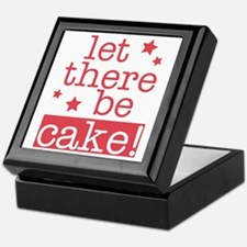 Let There Be Cake! Keepsake Box