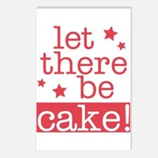 Let There Be Cake! Postcards (Package of 8)