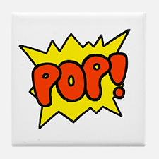 'Pop!' Tile Coaster