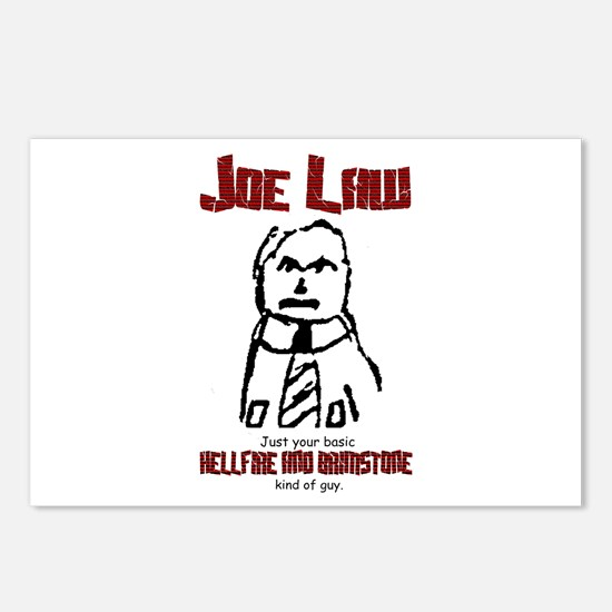 Joe Law Fire and BrimstonePostcards (Package of 8)