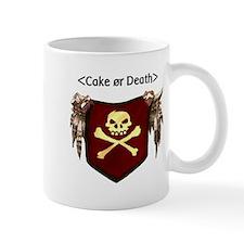 Cake or Death Small Mug