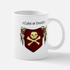 Cake or Death Small Small Mug