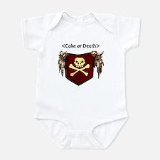 Cake or Death Infant Bodysuit