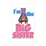 Big Sister Rectangle Sticker