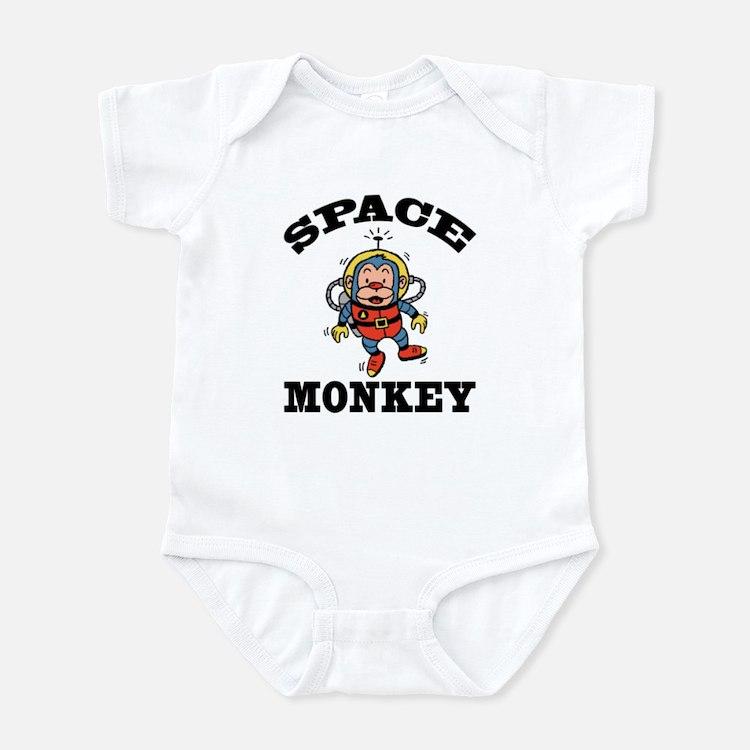 Space Monkey Infant Creeper