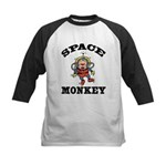 Space Monkey Kids Baseball Jersey