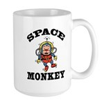 Space Monkey Large Mug