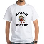 Space Monkey White T-Shirt