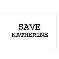 Save Katherine Postcards (Package of 8)