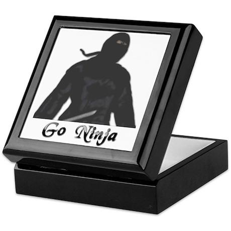 Go Ninja! Keepsake Box