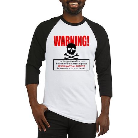 WARNING MMA Baseball Jersey