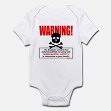 WARNING MMA Infant Bodysuit