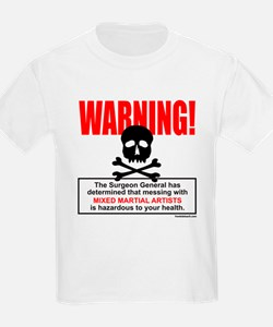 WARNING MMA T-Shirt