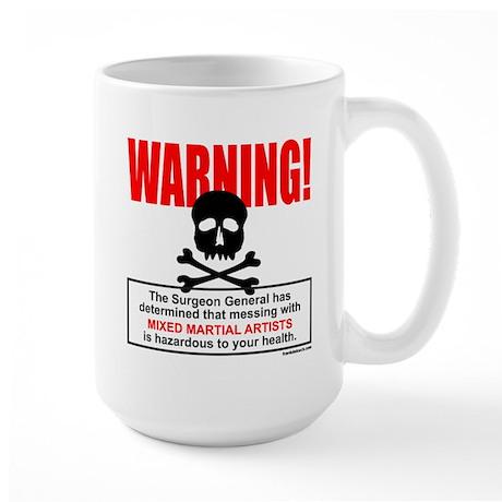WARNING MMA Large Mug