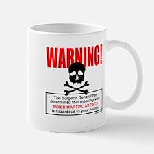 WARNING MMA Mug
