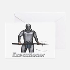 Executioner Greeting Cards (Pk of 10)