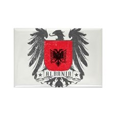 Albania Shield Rectangle Magnet