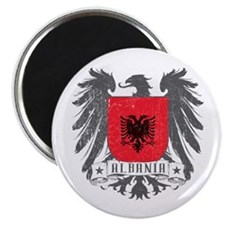 Albania Shield Magnet