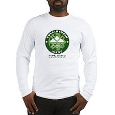 Green Logo w/URL Long Sleeve T-Shirt
