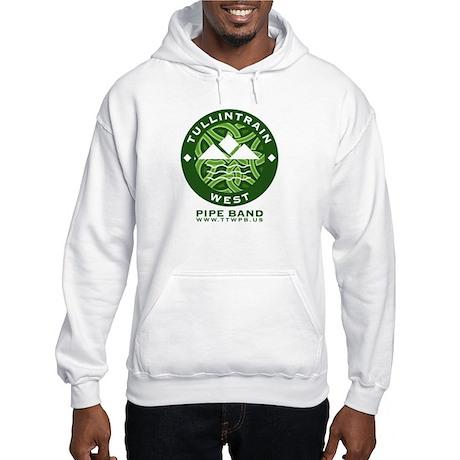 Green Logo w/URL Hooded Sweatshirt