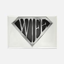 SuperWife(metal) Rectangle Magnet