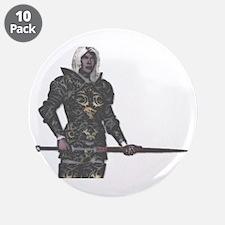 """Dark Elf 3.5"""" Button (10 pack)"""