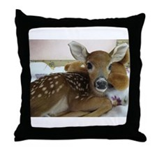 Rescued Fawn pillow