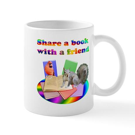 Share Books Mug