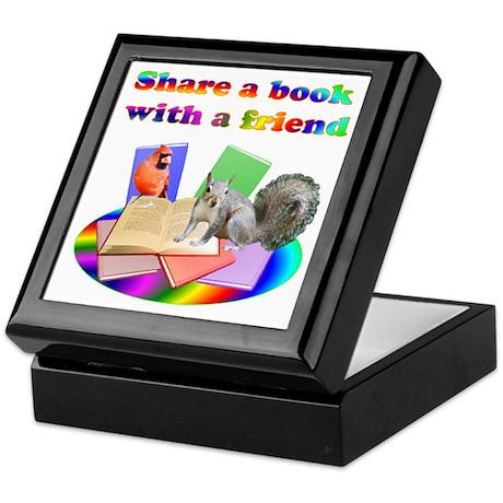 Share Books Keepsake Box