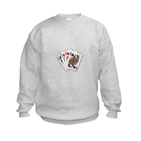 Classic Card Trick Kids Sweatshirt