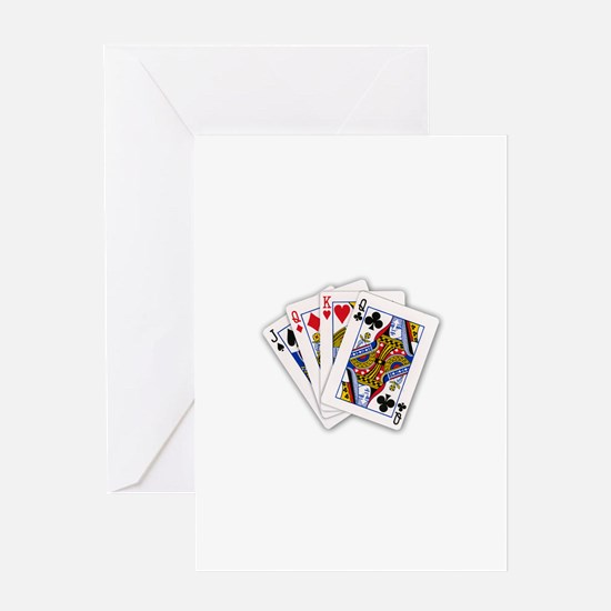 Classic Card Trick Greeting Card