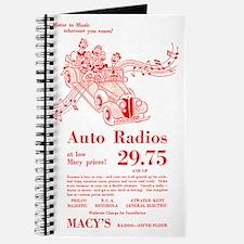 Macy's Auto Radios Journal