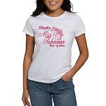 Miss Fisherman Women's T-Shirt