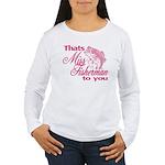 Miss Fisherman Women's Long Sleeve T-Shirt