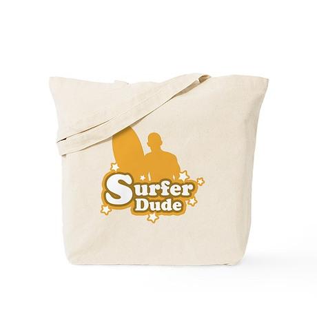 Surfer Dude Tote Bag