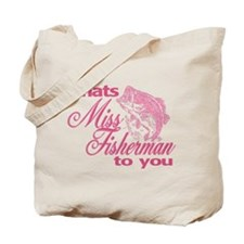 Miss Fisherman Tote Bag